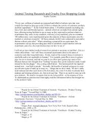 animal testing essay thesis co animal testing essay thesis