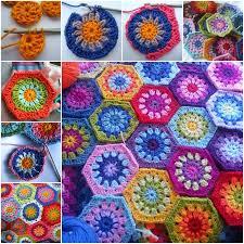 Hexagon Crochet Pattern Stunning Wonderful DIY Crochet Pretty Hexagon Blanket With Free Pattern