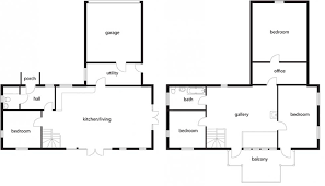 house plans for an oak frame self build