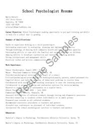 Psychology Internship Cover Letter Samples Unique School Psychology Internship Cover Letter Sample About Exa