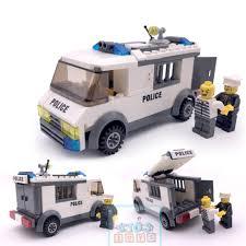 Đồ Chơi Lego, Lego City, Xếp hình Lego Cảnh Sát Bắt Tội Phạm Chất Liệu Nhựa  PVC An Toàn Cho Bé., Giá tháng 2/2021
