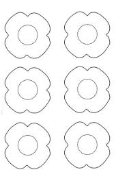 poppy template poppy printable template peoplewho us