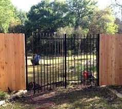wrought iron privacy fence. Iron Privacy Fence Ornamental And Wrought !