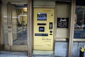 Bitcoin machines are not exactly the same as. There S A Gold Dispensing Atm On West 57th Street Scouting Ny