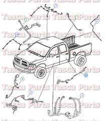 new oem mopar rh or lh rear door wiring harness dodge ram 1500 2500 new oem mopar rh or lh rear door