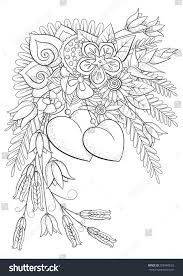 Free Flowers Coloring Pages For Older Kids With Royalty Free