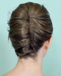 French Twist Hair Style a simple french twist for short hair fashionista 1676 by stevesalt.us