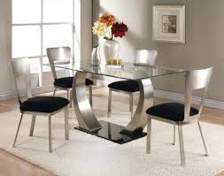 stunning dining room sets gl top table set regarding decor 3 piece high chair amazing home
