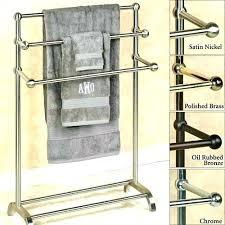 standing towel rack oil rubbed bronze. Floor Towel Rack Standing Satin Oil Rubbed Bronze G