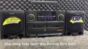 🆘Hoài niệm cũ xưa ....Cassettes Sony 715S - Dàn âm thanh mini bãi Nhật.