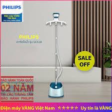 GIẢM 528,500₫] Bàn ủi cây hơi nước đứng Philips GC518 hãng phân phối • Đang  giảm giá tháng 12/2020