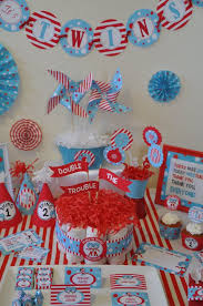 Twin Baby Shower Themes Including Dr Seuss Peas In A Pod Baby Shower Theme For Twins