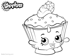 Shopkins Coloring Pages Cupcake Chic Free Printable Coloring Pages