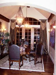Living Room And Kitchen Dining Room Window Treatments And Awesome Modern Window Treatment