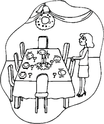 Restaurant Coloring Pages For Kids Hoofardus