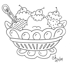 Small Picture Coloring Pages For Kids Dessert Coloring Home