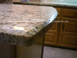 granite eyebrow bevel edge