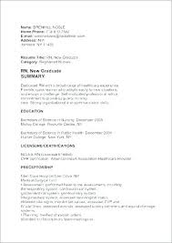 Cover Letter For New Nurse A Sample Cover Letter For A Registered ...