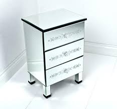 next mirrored furniture. Glass Bed Side Table Furniture Tall And Narrow Square Mirrored Bedside With 3 Drawers In The Corner Bedroom Spaces Ideas Next B