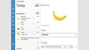 Get Food Diary Microsoft Store