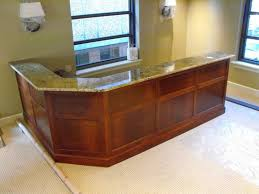 office reception decor home office stone on reception desk dental pinterest furniture traditional with marble top bathroomknockout home office desk ideas room design