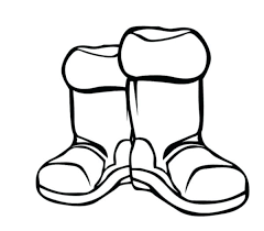 winter clothes coloring page boots winter clothes coloring page winter coat colouring page