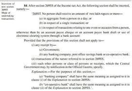 Legal Receipt Of Payment Inspiration Rs 48 Lakh Cash Transaction Limit Wef 48Apr48487 Details Examples