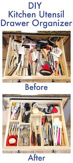 Storage For Kitchens Diy Kitchen Utensil Drawer Organizer Easy Drawers Diy And