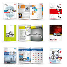 Catalog And Brochure Design For Various Products