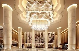 Hotel lobby lighting Led Extravagant Chandelier In Hotel Lobby Pinterest Ways Hotel Lobbies Teach Us About Interior Design