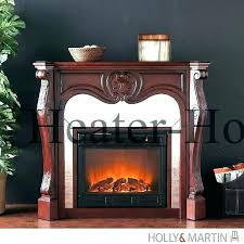 62 inch grand cherry electric fireplace white at big lots reviews