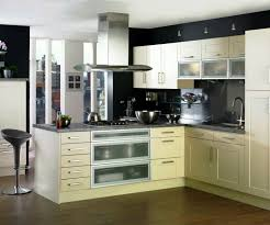 Kitchen : Mesmerizing Cool Modern Kitchen With Slab Cabinet Doors ...