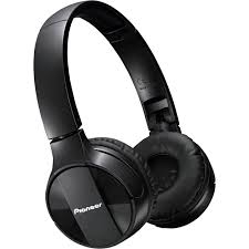 pioneer bluetooth headphones. pioneer se-mj553bt bluetooth headphones (black) e