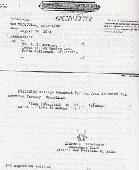 "amelia earhart lives"" amelia earhart the truth at last the infamous weishien telegram a so called speedletter sent from"