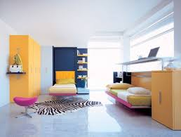 Impressive Colorful Kids Bedroom With Twin Murphy Beds Did You Get It Right  Pertaining To Kids Murphy Beds Popular