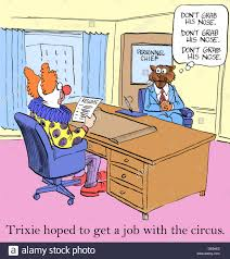 funny job interview stock photos funny job interview stock during the job interview for the circus trixie reminded himself don t
