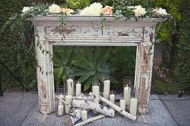 how to decorate fireplace mantel for wedding image of