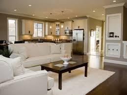 open plan kitchen living room designs open floor plan living room and kitchen 1085