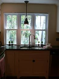sink windows window love: just replaced a quot casement with a triple double hung window to the counter
