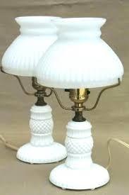 vintage glass light shades antique milk glass lamp milk glass lamps s value hobnail antique lamp vintage glass light