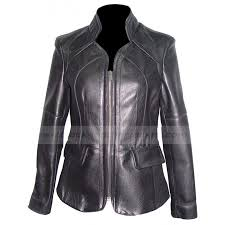 womens open bottom plus size black leather moto jacket