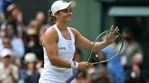 Wimbledon finalist Ashleigh Barty ...