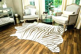 zebra print rug large size of cowhide rug brown and white cowhide rug small round zebra
