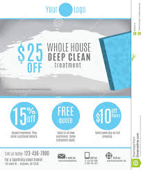cleaning service flyer template advertisement stock vector image cleaning service flyer template advertisement