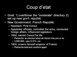 napoleon bonaparte hero or villain background born  6 coup