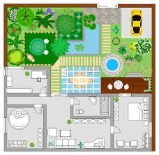 a free customizable garden floor plan