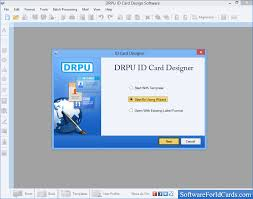identity card size id cards maker software design identity cards for staff or students