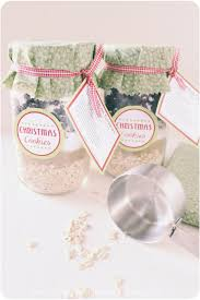 diy cookie mix in a jar handmade holidays recipes for gifts in a jar