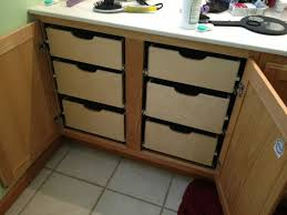 Pull Outs For Kitchen Cabinets Kitchen Cabinets With Sliding Shelves Monsterlune