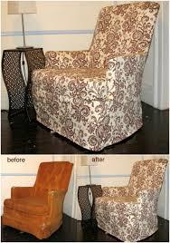 diy reading chair slipcover